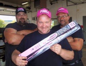"""GREASE LIGHTNING Teams Up With AUTOTEX To """"Wipe"""" Out Breast Cancer"""