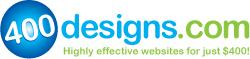400designs.com Designs Effective and Professional Websites for Just $400