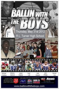 4th Annual Ballin' with the Boys Charity Basketball Game
