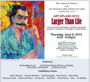The LeRoy Neiman Art Center Hosts ART SPLASH 2013