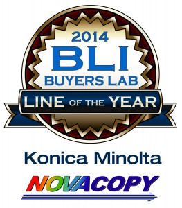 "NovaCopy's Konica Minolta Copiers Receive BLI ""Line of the Year"" Award"