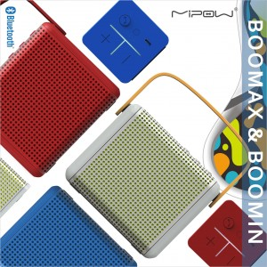 Another Breakthrough from MIPOW—Bluetooth Speakers BOOMAX & BOOMIN