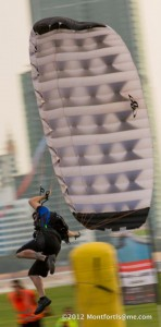 Bartholomew to bring home gold in Speed at World Parachuting Championships