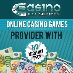 Casino Games Developers from CasinoWebScripts announce new challenging titles