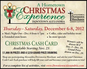 Alexandria's Downtown Merchants Present Hometown Christmas