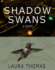 Reviewers deliver strong praise for Laura Thomas's magical novel, Shadow Swans.