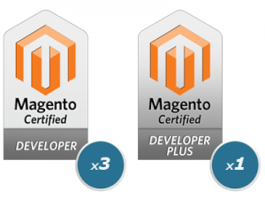 Crown Developers Receive Magento Certification