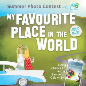 Celebrating favourite places: Sat nav app M8 UK launches photo competition