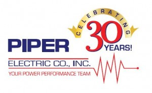 Piper Electric Company Celebrates 30 Years of Business In Power Performance