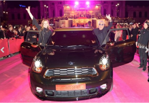 Roberto Cavalli And MINI Team Up To Fight AIDS