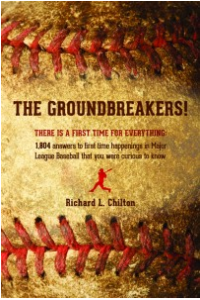 New Baseball Book Focuses On History of First Time Happenings in the MLB