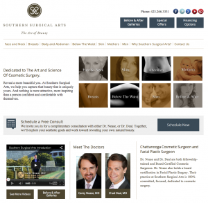 Southern Surgical Arts Launches New Website Features to Enhance User Experience
