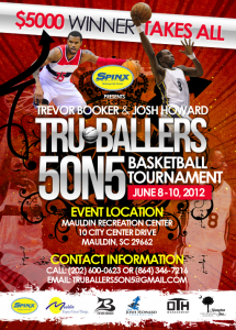 Trevor Booker & Josh Howard's Tru-Ballers 5 on 5 Basketball Tournament