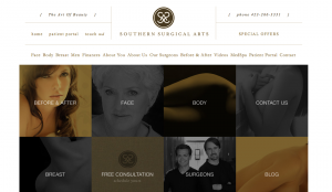 Website Facelift for Cosmetic Surgery Center
