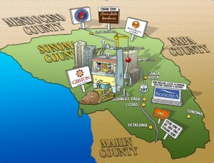 Casino Row? Sonoma COunty Facing Multiple Tribal Casinos, All in Cities