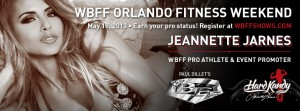 WBFF Orlando Fitness Weekend Has the Best of the Best in Competition Fitness