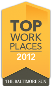NFM, Inc was selected as one of Baltimore's Top Workplaces