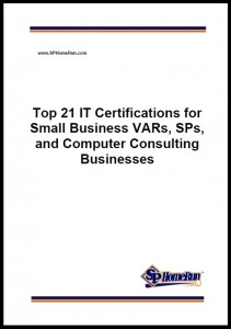 SP Home Run Inc. Reveals Top 21 IT Certifications for Small Businesses