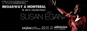 BROADWAY IN MONTREAL, the masterclass series!