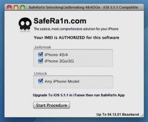 Jailbreak/Unlock iPhone 4S/4/3Gs iOS 5.1.1  New Baseband 12.04.01 With SafeRa1n