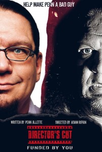 Penn Jillette Launches FundAnything Campaign To Scare Up $1 Mil For New Thriller
