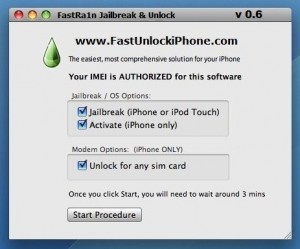 Jailbreak 4.3.5 and Unlock iPhone 4/3Gs Possible Using FastRa1n