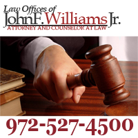 Law Offices of John F. Williams, Jr. Offers Bankruptcy Protection in Frisco TX