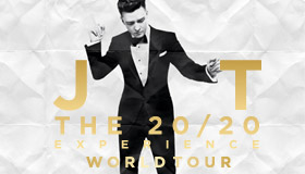Justin Timberlake The 20/20 Experience At TicketHurry.com