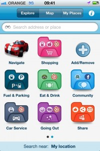 M8 app combines navigation, local information, traffic updates & social media