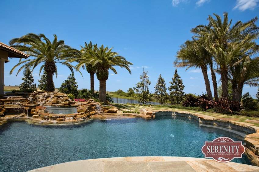 houston outdoor living specialist serenity pools named best pool company