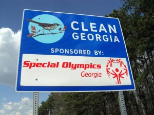 Special Olympics Goergia is Adopt A Highway's Newest Partner!