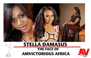 Nollywood Actress Stella Damasus is the Face of AmVictorious USA in Africa