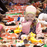 Toy Wrap Frenzy to Wrap Toys for Needy Kids
