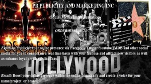 Get More Bookings/Get New Investors!  Publicity Service for Actors/Filmmakers