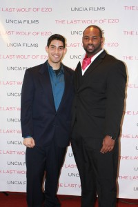"Actor Big Spence Rode In for Film Premiere of ""The Last Wolf of EZO"""