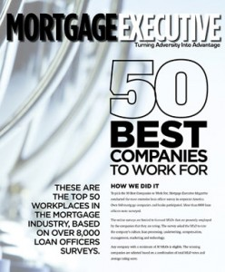 NFM Lending named one of The Top 50 Best Companies to Work for in America