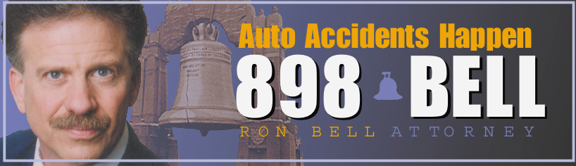 What do you do if you get in an accident? Ron Bell has your back.