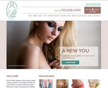 Smith Plastic Surgery Institute Unveils Redesigned Website