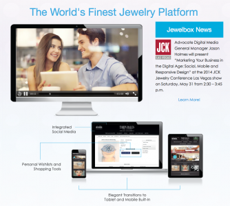 "Advocate Digital Media to Premiere ""JewelBox"" at JCK Show in Las Vegas"