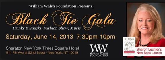 Times Square NYC Black Tie Gala Celebrating Think and Grow Rich for Women!