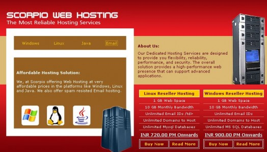 Scorpio Technologies: One of the best web hosting companies in Chennai