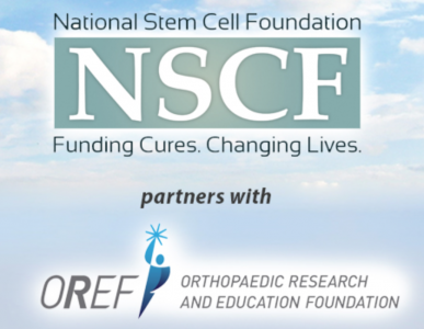 Stem cell and orthopaedic foundations partner on stem cell research