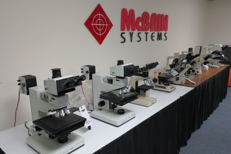 Large Microscope Auction from McBain Systems
