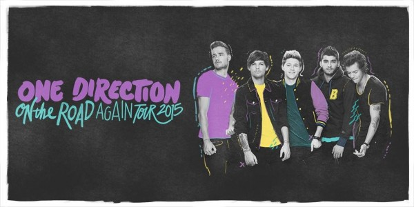 TicketHurry.com Released One Direction'On the Road Again' Tour Tickets
