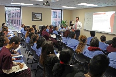 Salter Students Get Career Advice from Nation's Leading Career Readiness Expert