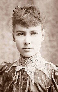 "REPORTER NELLIE BLY GOES UNDERCOVER IN NEW FILM, ""10 DAYS IN A MADHOUSE"""