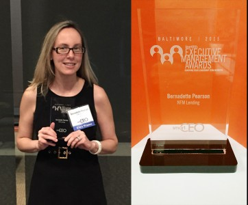 Bernadette Pearson Earns SmartCEO Executive Management Award