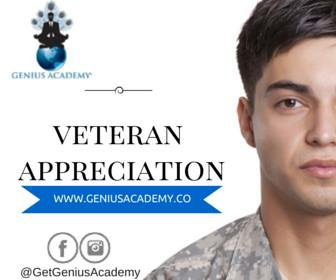 Genius Academy To Offer Veterans Free Training To Start Entrepreneurial Success