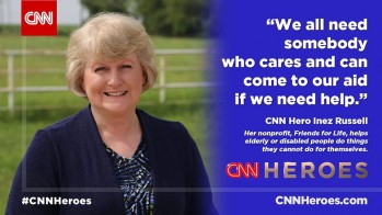 Inez Russell, Executive Director of Friends for Life Charity, Named CNN Hero