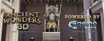 CasinoWebScripts Takes Next Step towards Evolution with 3D Slot Ancient Wonders